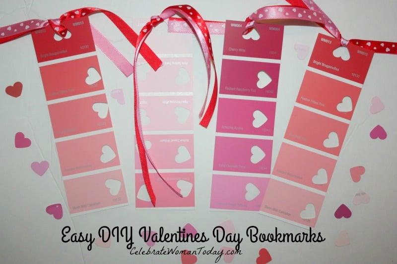 DIY Valentines Day Bookmark