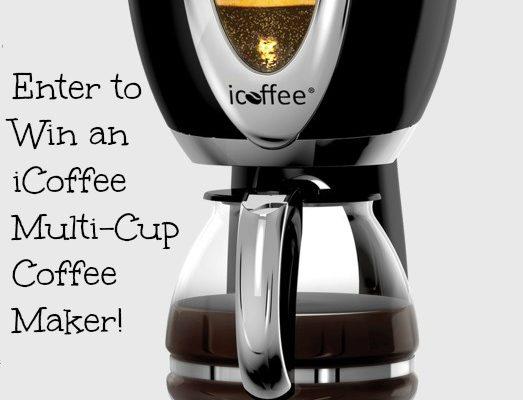 iCoffee Multi-Cup Coffee Maker Giveaway #MyiCoffee