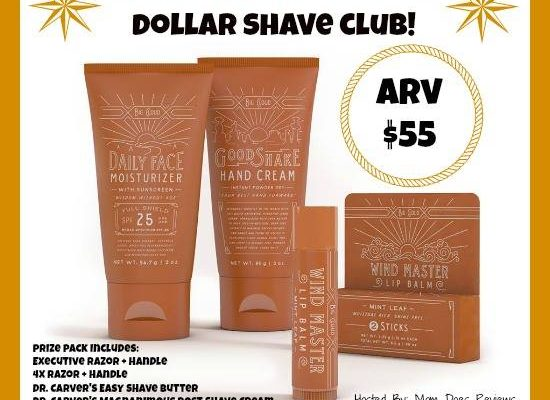 Win a Prize Pack from Dollar Shave Club – Valentine's Day Ideas for A Unique Gift