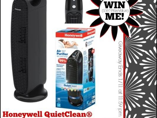 Honeywell QuietClean® Tower Air Purifier Giveaway