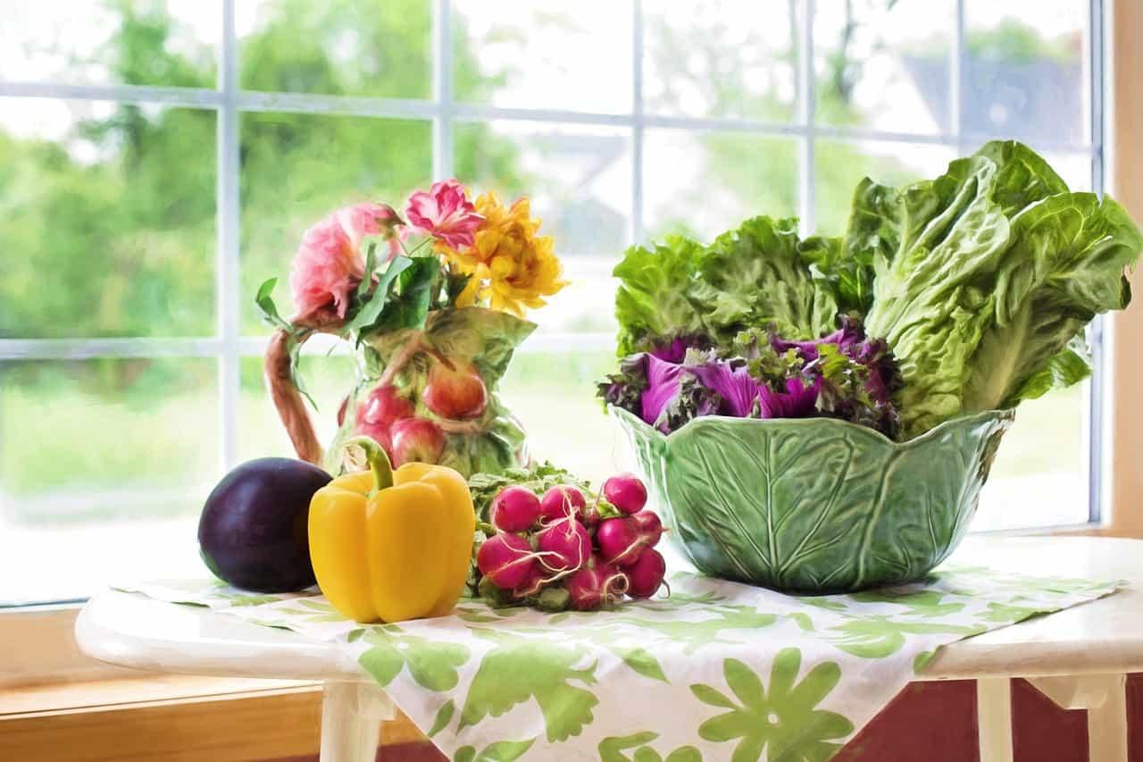vegetables, greens