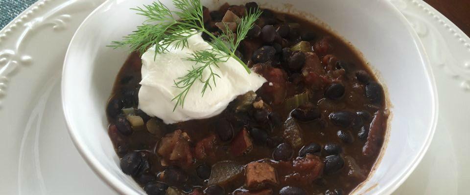 Black Bean Ragu to Delight Your Super Bowl Friends #RecipeIdeas