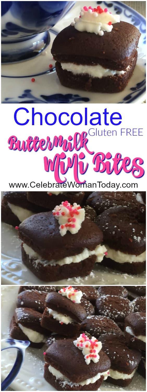 Chocolate Gluten Free Buttermilk Cakes Recipe