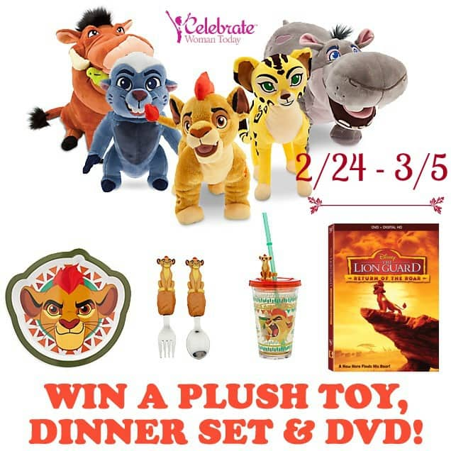 Disney Lion Guard DVD giveaway