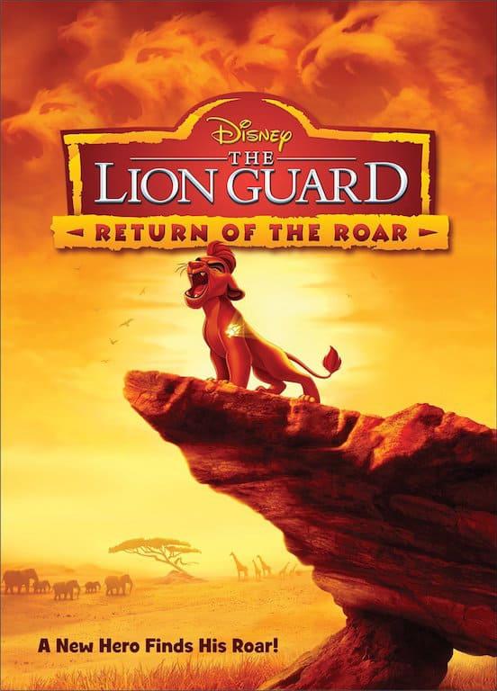 disney lion guard dvd