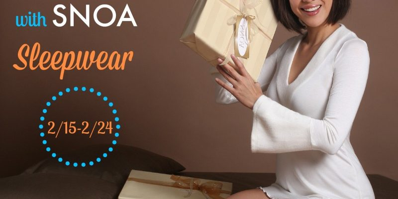 It Is So Easy To Add Small Luxuries to Our Lives Like SNOA Sleepwear b1b656f80