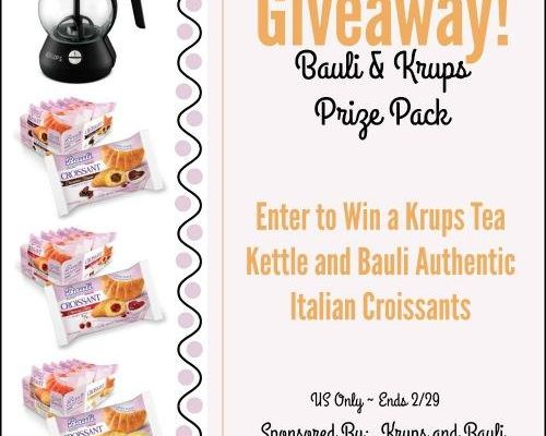 Krups And Bauli #HeartThis Snack Pack for Your AM Coffee or Afternoon Tea