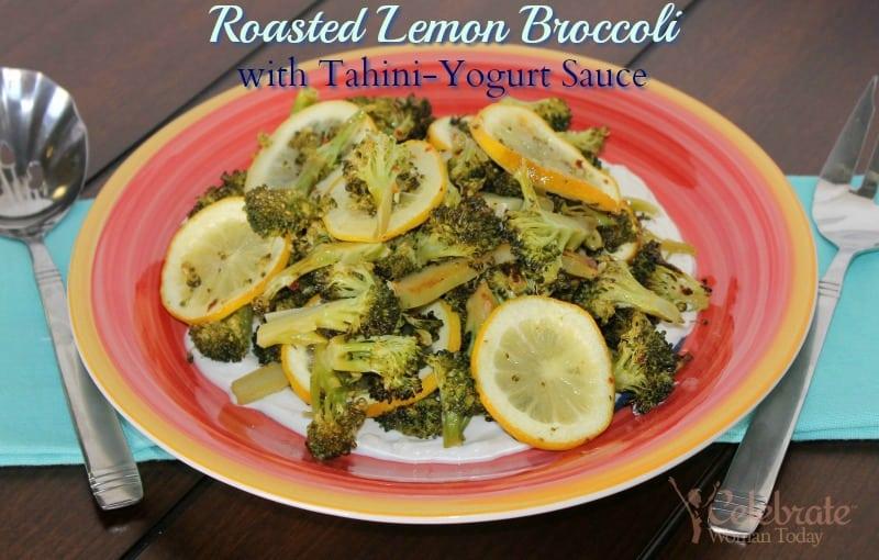 Broccoli-Lemon-roasted-in-greek-yogurt-sauce-recipe