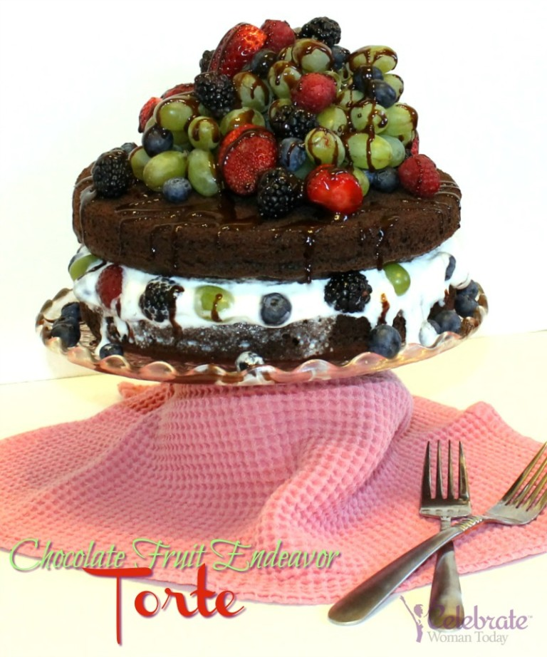 Chocolate Fruit Endeavor Torte