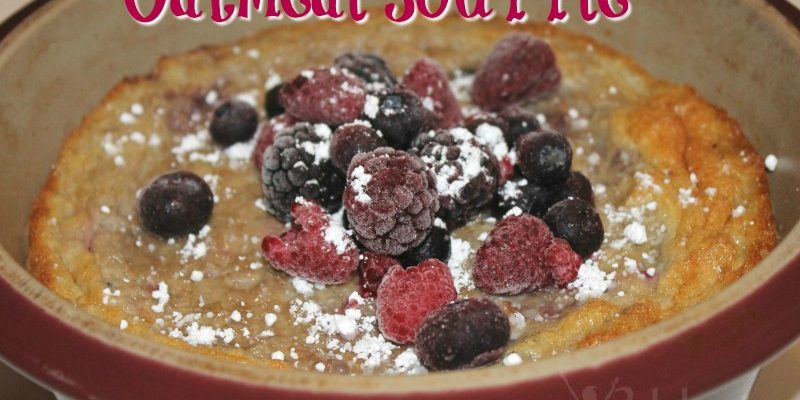Oatmeal Souffle RECIPE