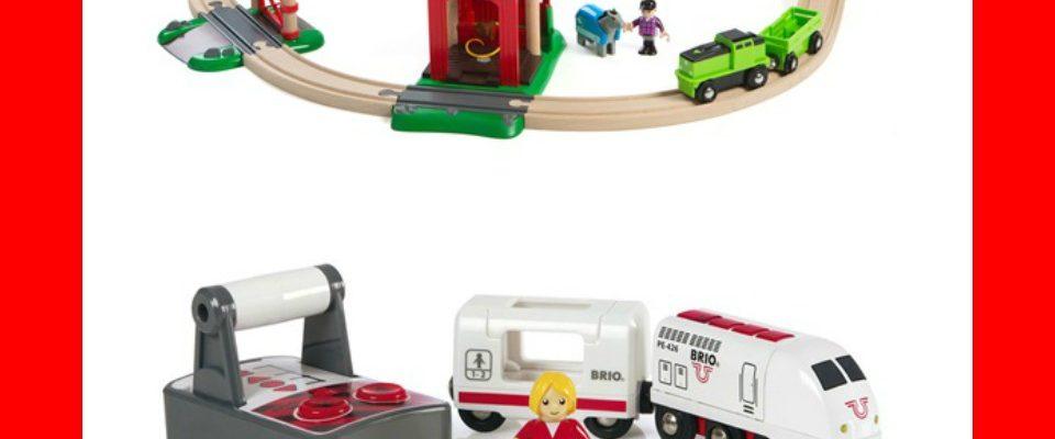 BRIO Railway Toys Help Childhood Development