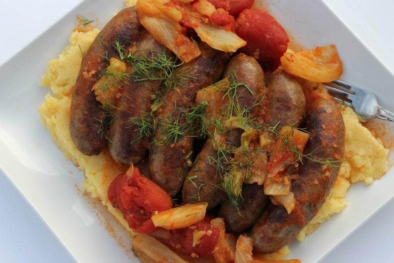 Sweet Sausages recipe