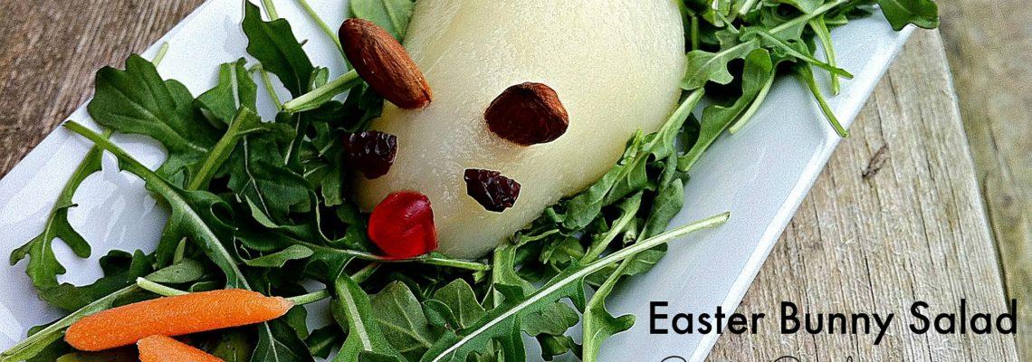 Easter Bunny Salad #12DaysOf Easter #RecipeIdeas