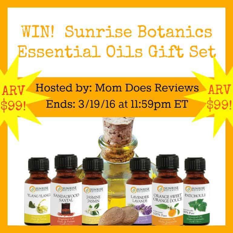 sunrise bontanics essential oils