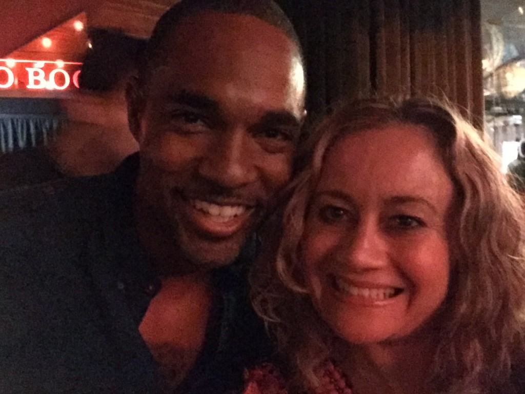 actor jason george, world primiere the jungle book