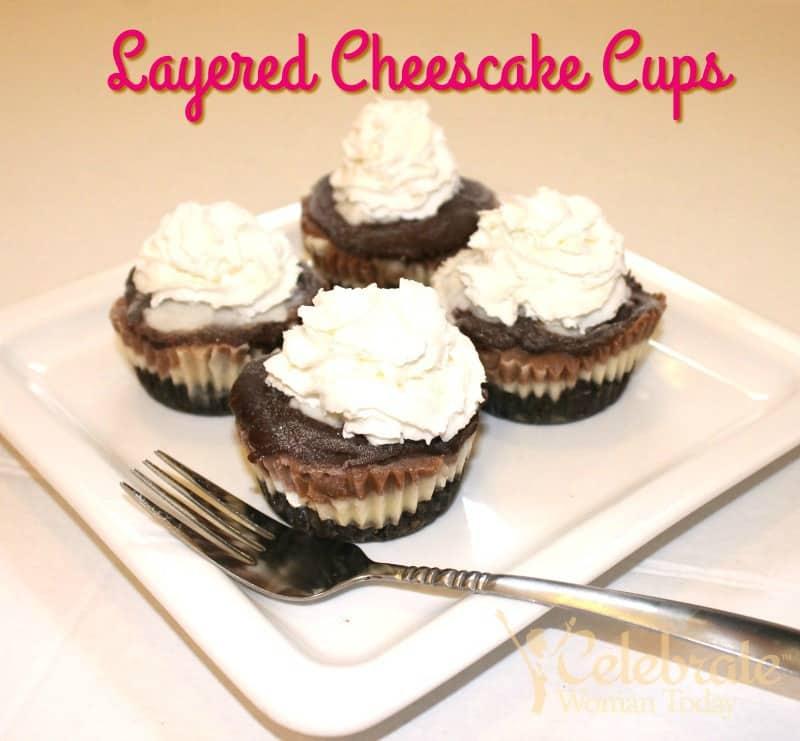 layered cheesecake cups recipe