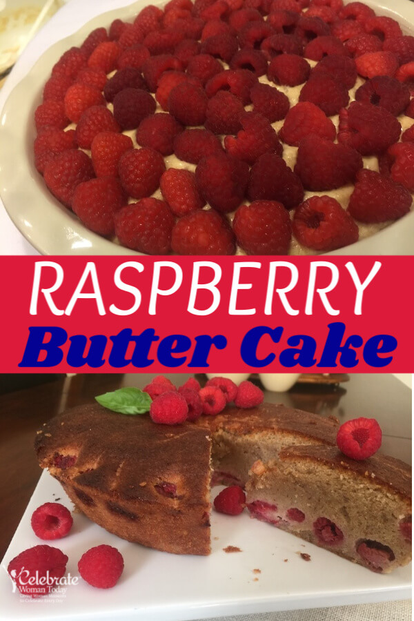 Raspberry Butter Cake Recipe