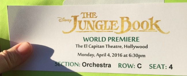My Experience Of The Jungle Book World Premiere With Red Carpet Treatment #JungleBookEvent