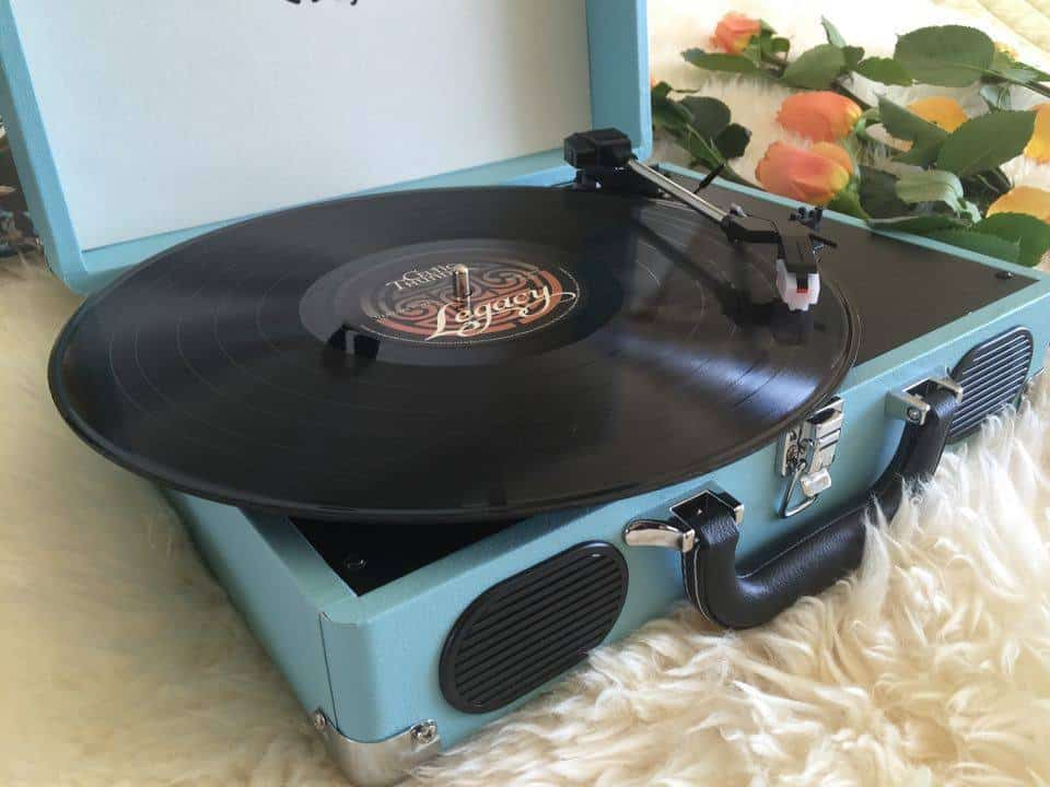 Turntable record player, 1byone