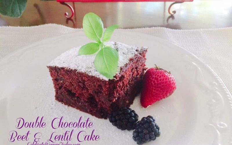 Double Chocolate  Beet And Lentil Cake Recipe for Any Celebration