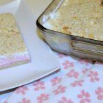 Pink Sherbet Dessert Recipe Valentines Day baking
