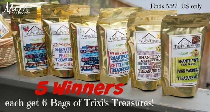 These Trixi's Treasures Snacks Are Some Of My Favorites!
