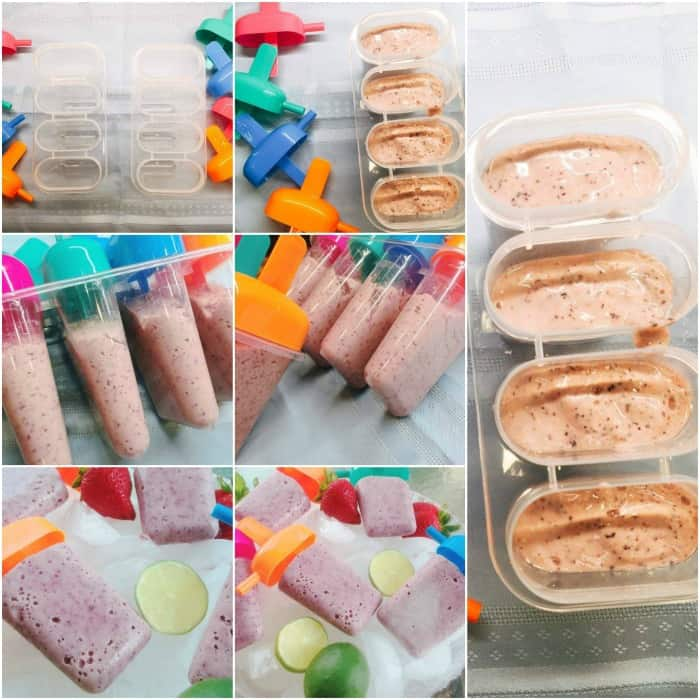 healthy popsicles recipe, homemade popsicles