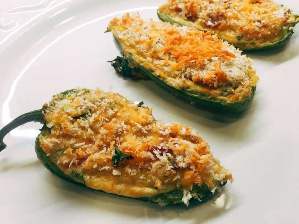 Jalapeno Poppers with Lentils, appetizers, snacks