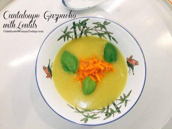 Gazpacho with Lentils
