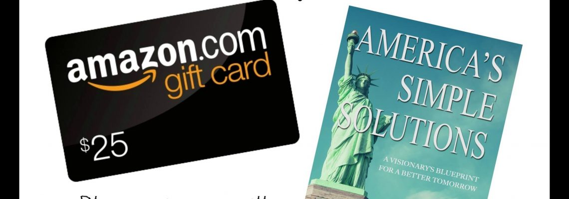 Win $25 Amazon Gift Card And America's Simple Solutions Book by Mark Werts