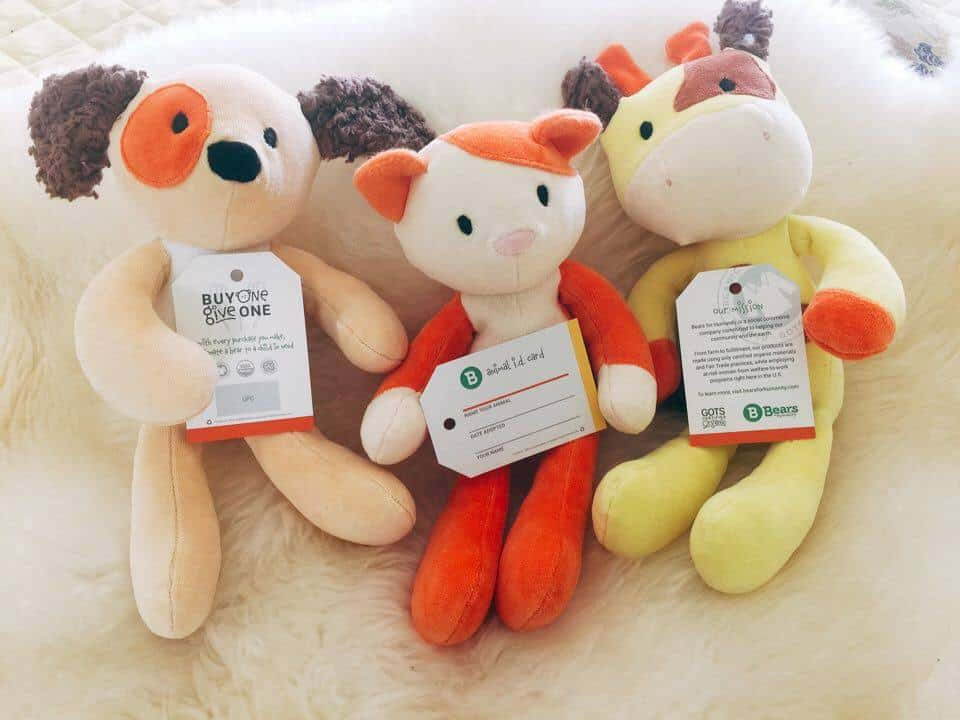 Bears for Humanity, animal pals, plush toys