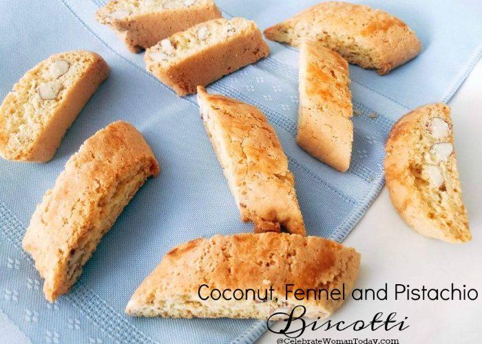 Best Biscotti Recipe Includes Coconut, Fennel and Pistachio