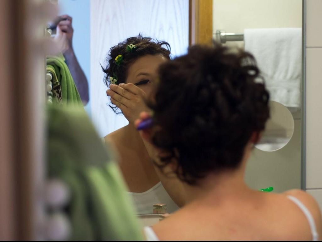 mascara, make-up