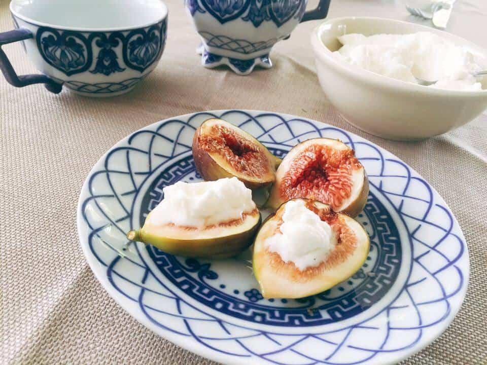 baked figs, easy dessert recipe