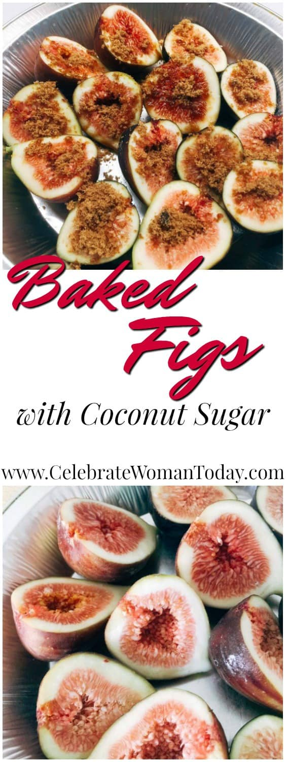 Baked Figs with Coconut Sugar Recipe
