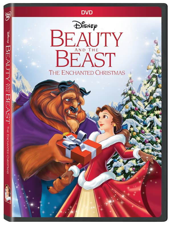 beauty and the beast, disney movies, christmas collection
