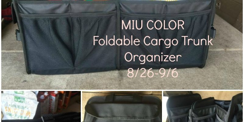 It's The Get-Organized Season With MIU COLOR Foldable Cargo Trunk Organizer