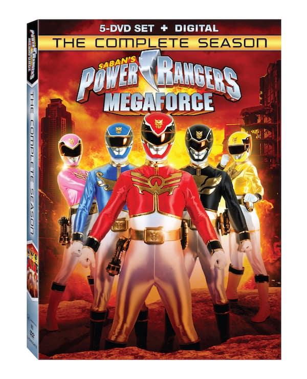 Power Rangers Megacore Complete Season