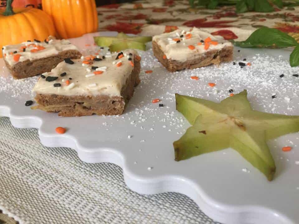 apple cake, maple frosting recipe