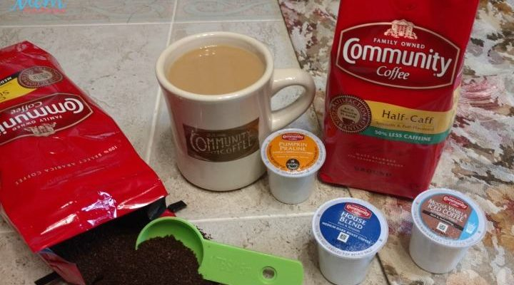 Community Coffee – Win Your Choice of 4 Blends of Ground, Whole Bean, or K-Cups