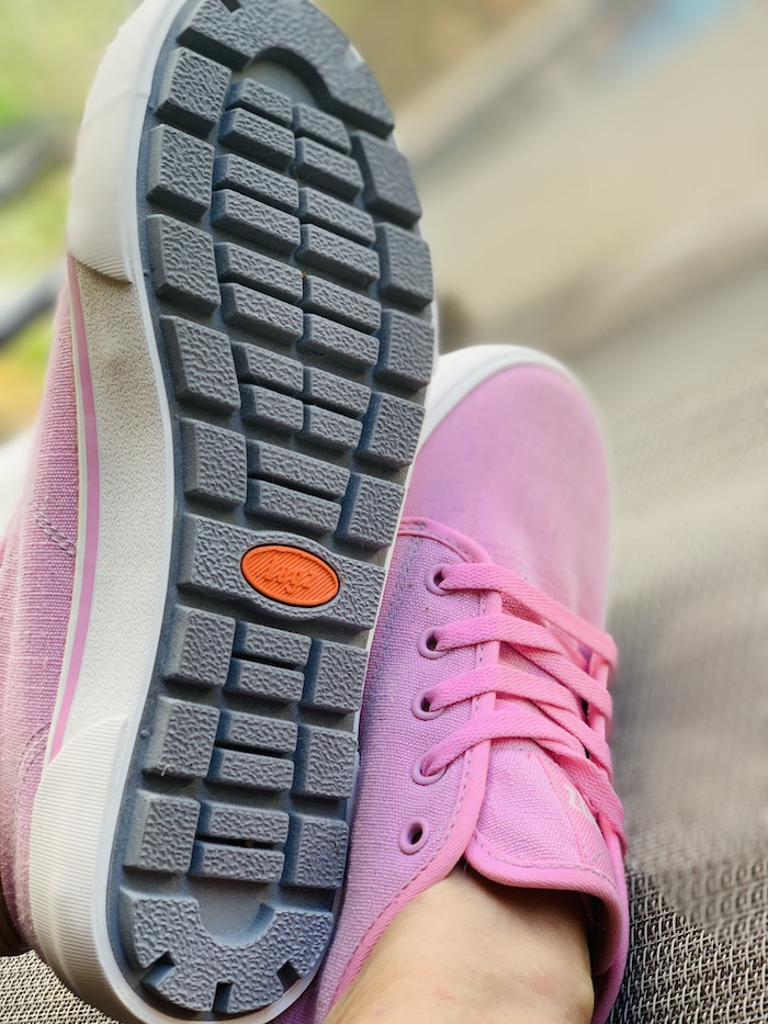 Lugz rugged outsole trax pink sneakers