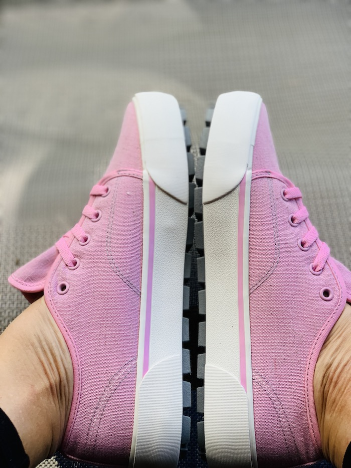 Lugz trax sneakers in pink