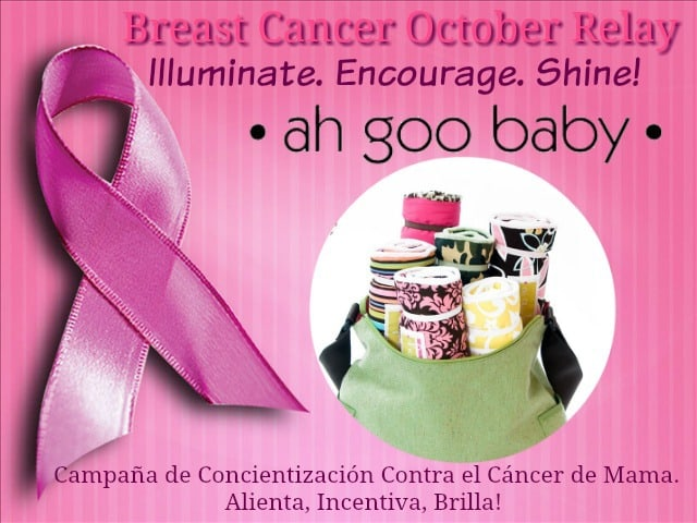 breast cancer awareness relay, ahgoobaby