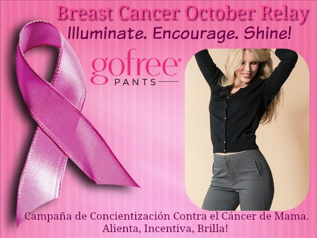 Breast Cancer Awareness Relay, Go Free Pants