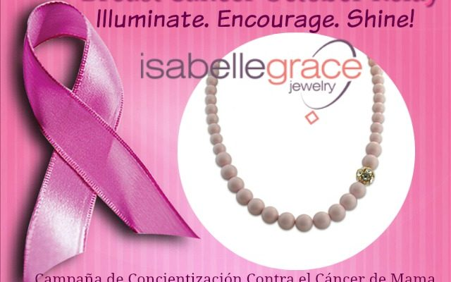 Isabelle Grace Jewelry To Own To Honor Breast Cancer Awareness Month #1SaveTaTas