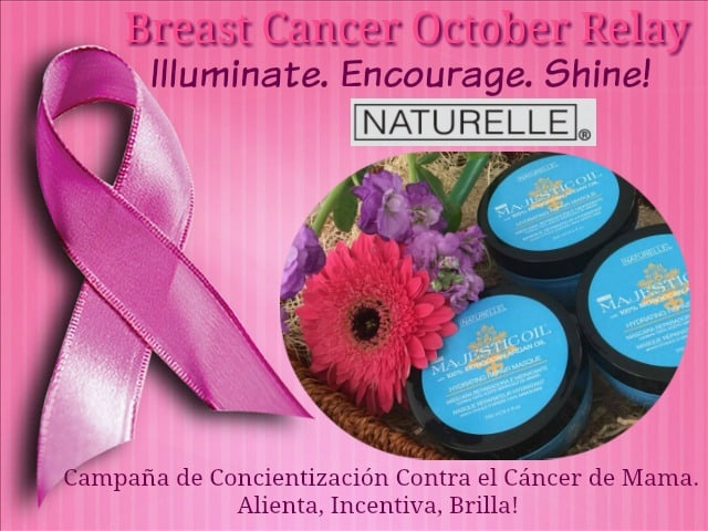 breast cancer awareness relay, Majestic Oil Hydrating Hair Products