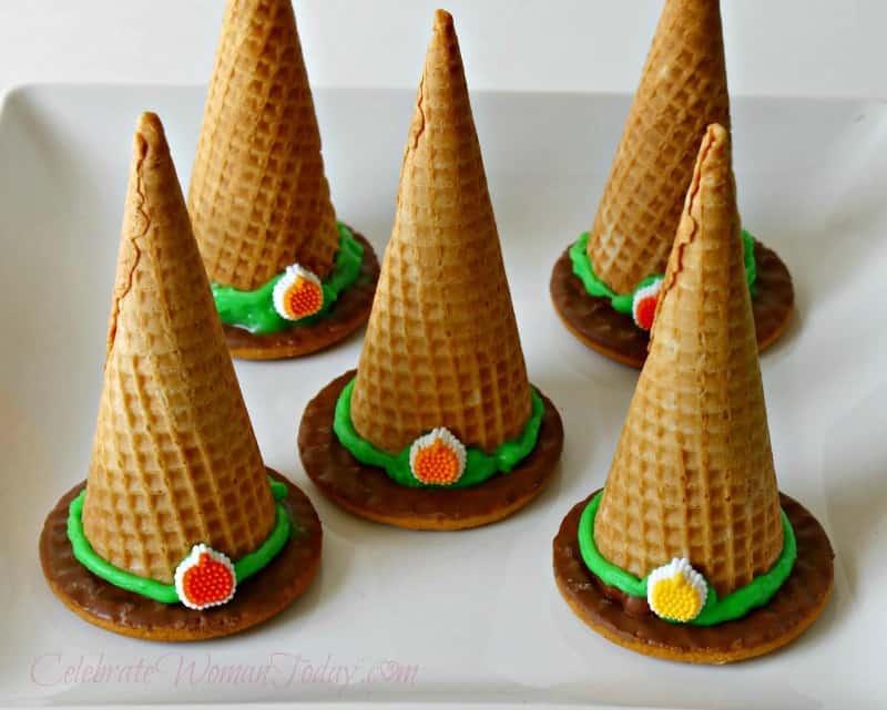 Halloween Craft, Candy Witch Hat Surprise Craft