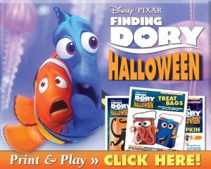 Disney Finding DORY Halloween Pumpkin Carving Patterns FREE Download