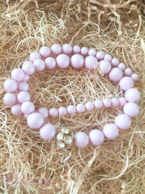 Pink Cotton Candy Pearls, Isabelle Grace Jewelry, Classic Jewelry