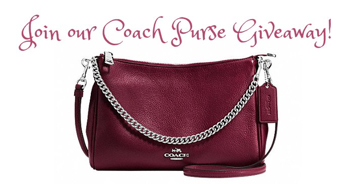 Add COACH Crossbody Purse To Your Handbags Collection!